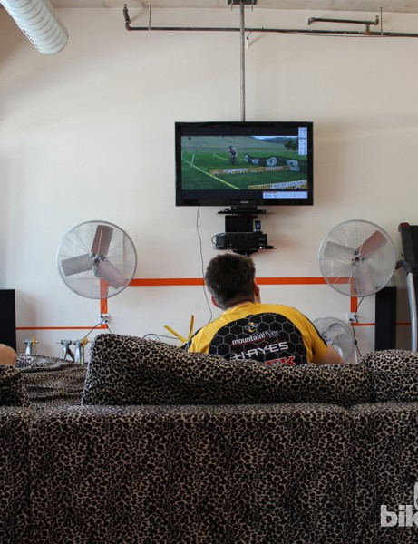 FasCat athletes watch themselves in slow motion