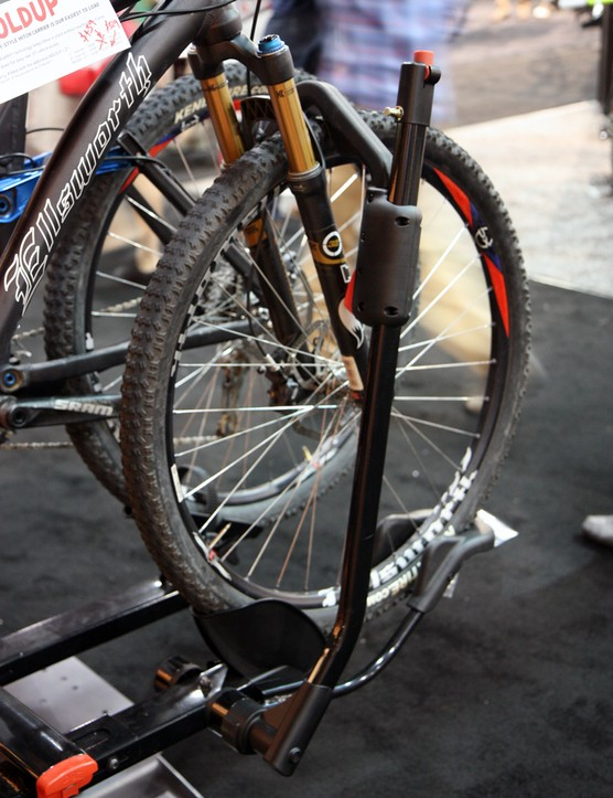 Yakima says the updated HoldUp arms will now accommodate big 29in tires