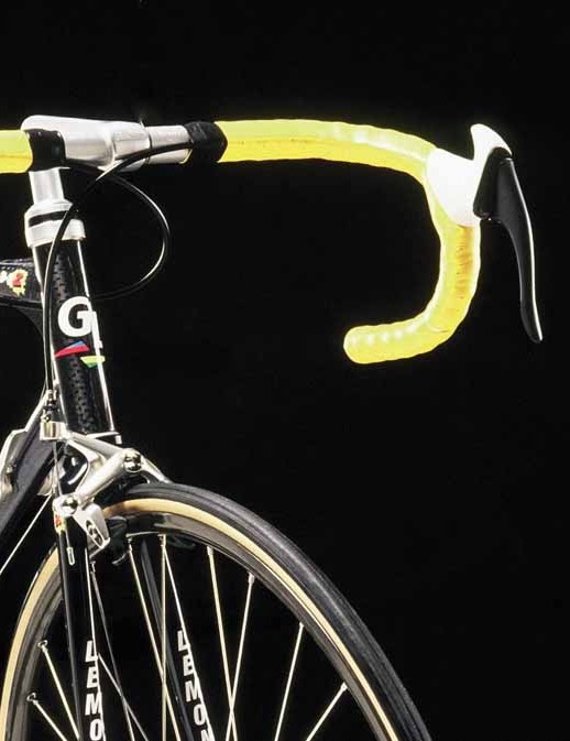 Ergo handlebars also featured in the LeMond collection