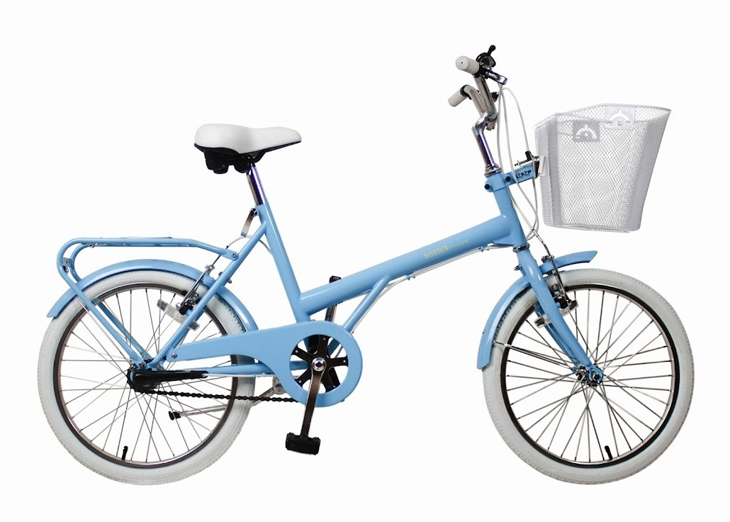 The Bobbin Bicycles Shopper is inspired by the 1960s and is meant for short zips around town. It comes in pale blue, olive green and burnt orange