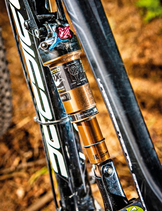 Fox introduced the Climb Trail Descend system to simplify suspension setting