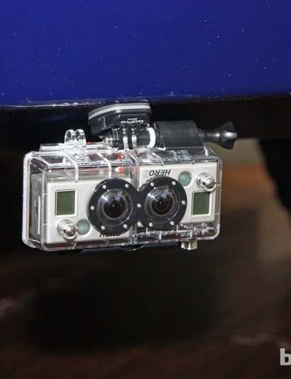 GoPro's HD Hero 2 cameras can be joined together in a special case for shooting 3D video