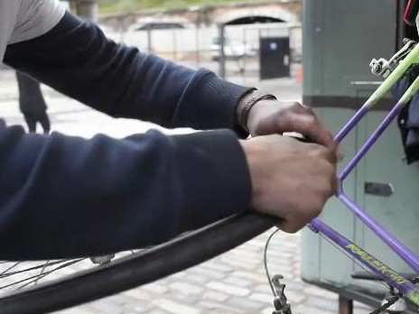Bikeworks' Cycle into Work project is helping disadvantaged Londoners back to work through cycle industry training