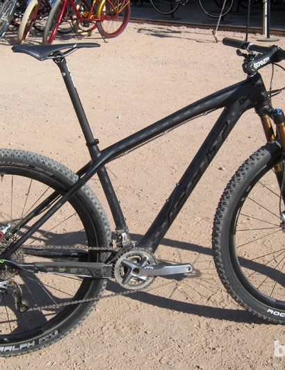 Felt says this sample Nine LTD complete build weighs in at around 8.6kg (18.96lb)