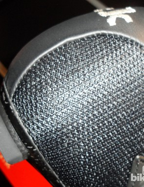New mesh panels replace kangaroo leather in some areas of the previous R1, for better ventilation