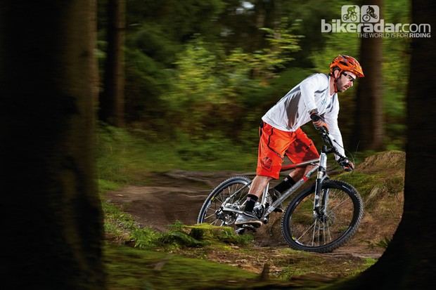The Blackrocks 1.0 delivers a genuine trail bike experience and is good value too