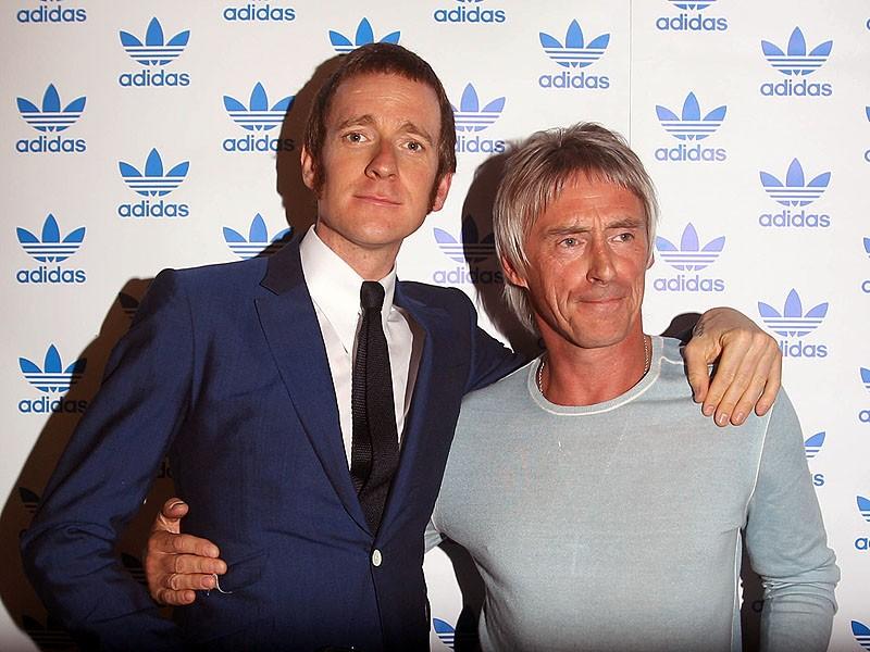 Bradley Wiggins has been a longtime fan of the 'Modfather' Paul Weller