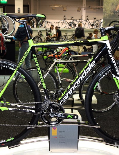 Cannondale's factory team is now racing on disc brakes across the board, using the latest SuperX Disc model