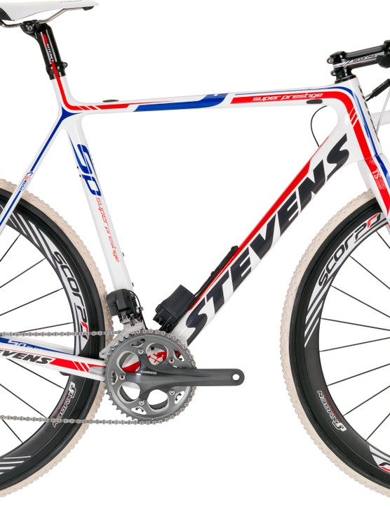 After playing with prototypes for a couple of years, Stevens now offers the Super Prestige Disc carbon 'cross bike to consumers