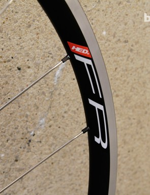 Flamme Rouge C2 scandium rims use a wider profile, to be more aerodynamic than traditional rims