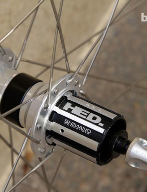 Inner bearing seals are removed on FR Sonic hubs, for reduced friction, while grease can be added via the freehub body