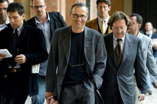 According to USADA's report, Dr. Michele Ferrari (front centre) received over a $1m from Armstrong between 1996 and 2006
