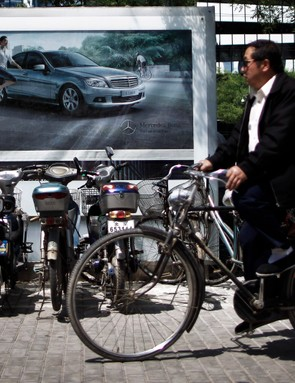 Despite a large number of bikes sold, cycle use in China has dropped