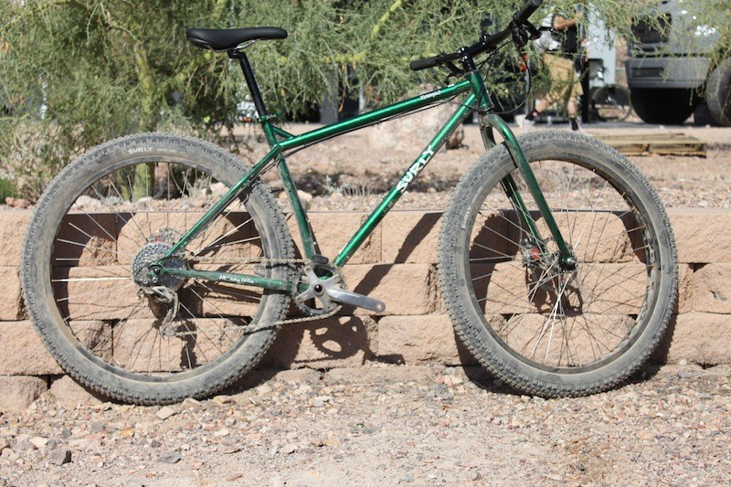 The Surly Krampus is what happens when a fat bike and a Karate Monkey reproduce