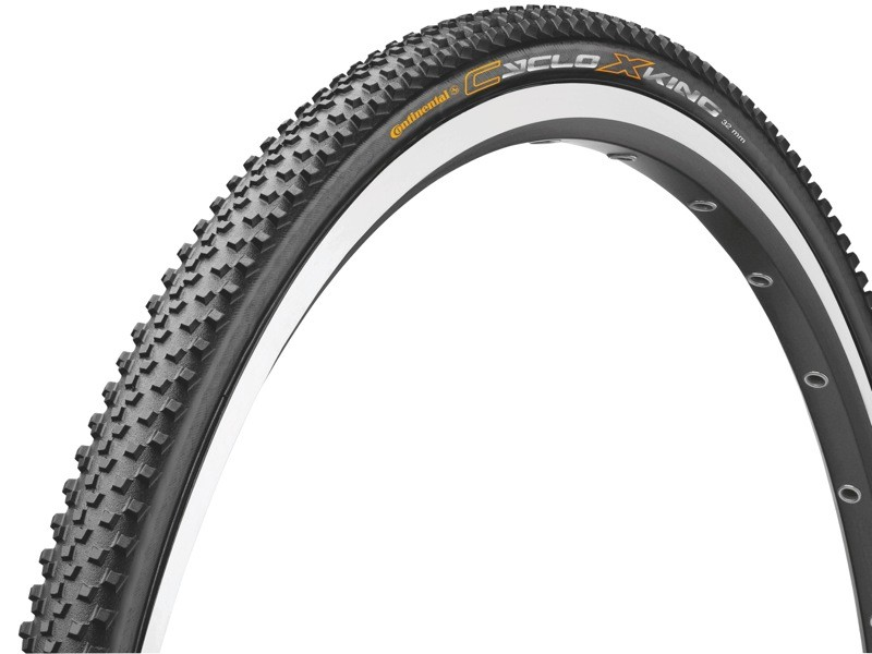 The Ciclo XKing is Continental's first tubular cyclocross tire