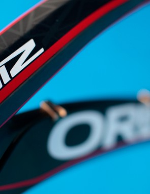 The Oiz retains Orbea's distinctive lines