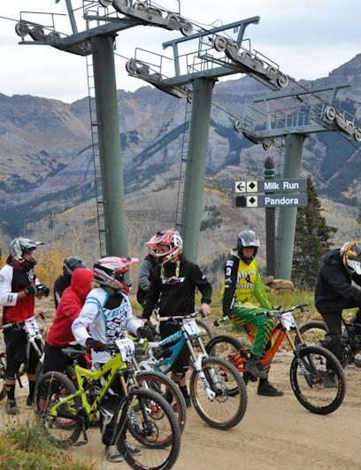 Telluride: Race start