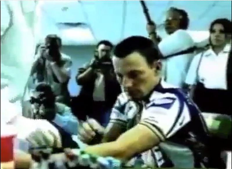 Lance Armstrong Nike commercial spoof