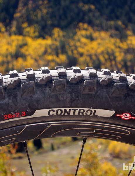 Our Control-level casing was resistant to sidewall cuts and easily converted to tubeless