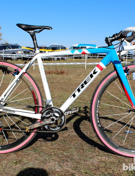 Katie Compton's custom Ion CX in 200 Series Alpha aluminum – for now