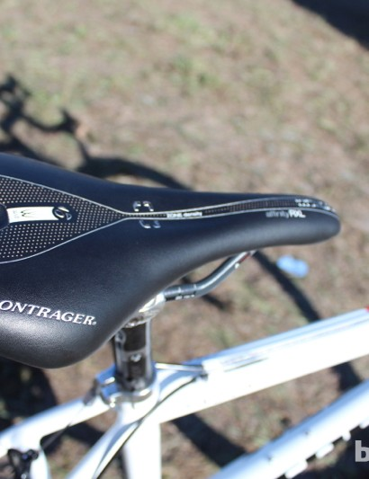 Compton's Bontrager Affinity RXL WSD Carbon, set at -3 degrees
