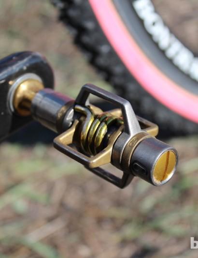 Crankbrothers' eggbeater 11 titanium pedals