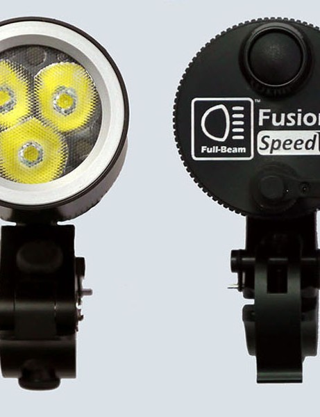 Front and rear views of the Full Beam Fusion SpeedLED