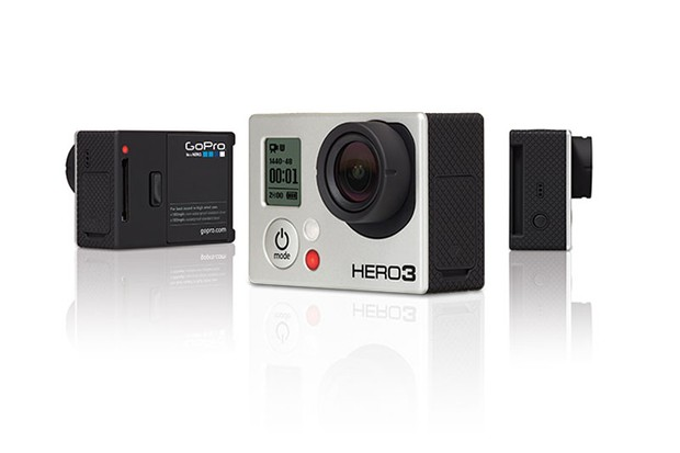 The GoPro HERO3 action camera