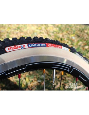 A new Team Edition tire showcases the white cotton sidewall, which comes with a thin latex coating for water resistance