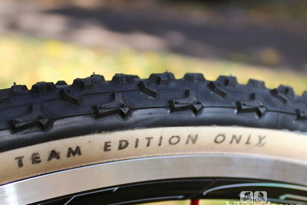 Challenge's Team Edition tires feature current treads with a sealed cotton casing