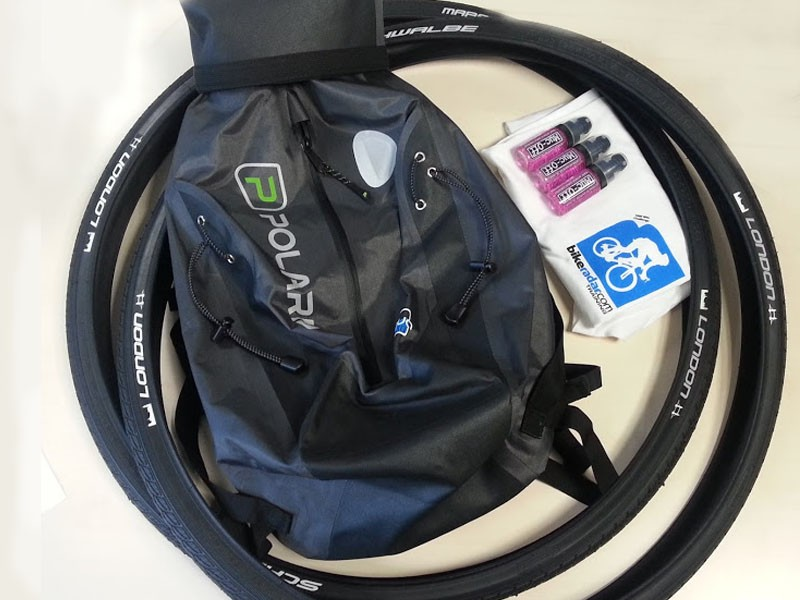 The October Commuter Challenge prize will go to one lucky cyclist