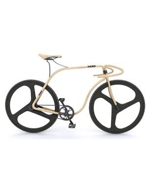 Thonet's sculpted Beechwood bike