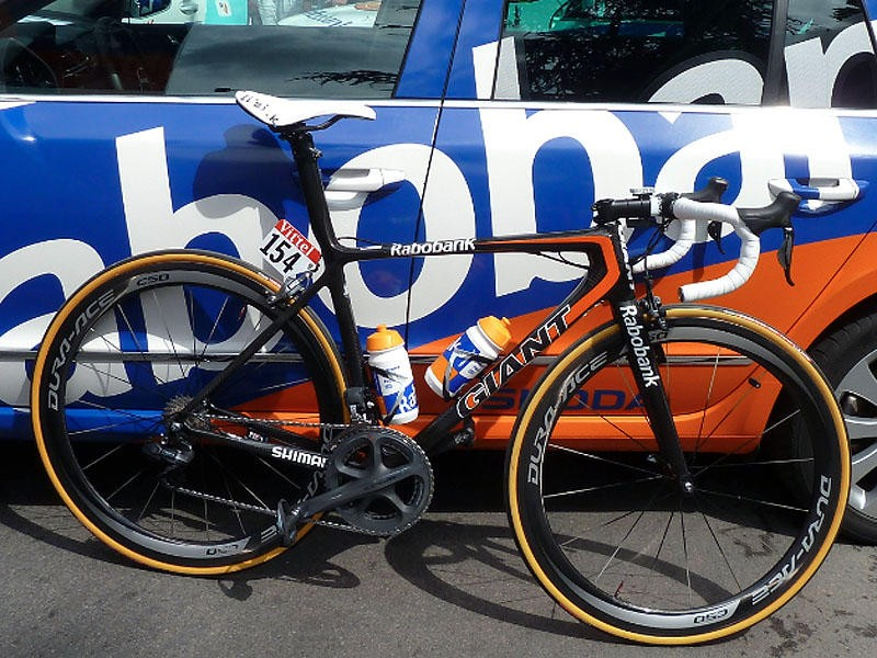 Giant have a long history sponsoring the Rabobank team