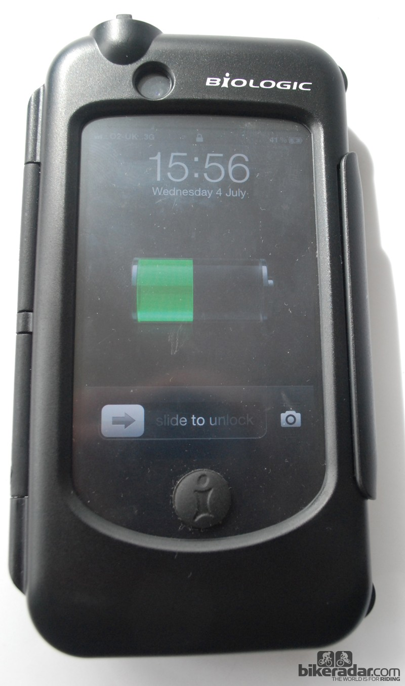 The BioLogic Reecharge Case - use it to charge your iPhone on the bike