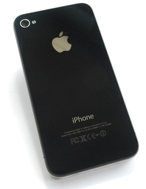 The iPhone 4 has tough aluminosilicate glass front and back