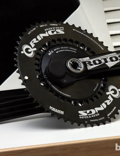 Rotor's crankarm power meter is one of the highly anticipated products for 2013