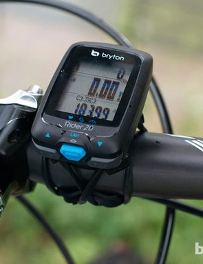 Bryton are one of the big players in the bike GPS market. This model is their Rider 20 unit