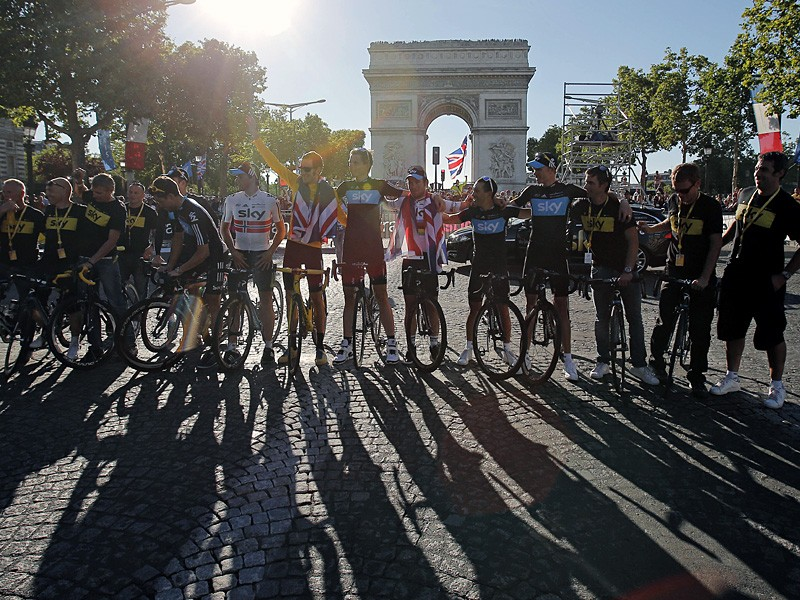 The 2013 Tour de France may finish in Paris in the evening next year