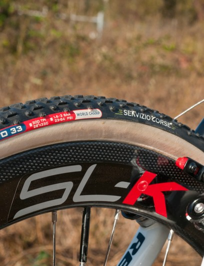 Challenge made cotton-casing tubulars for its pro riders this season