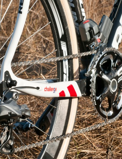 The Redline Carbon Conquest Team has internal routing for wires or cables