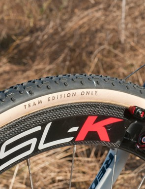 Challenge Team Edition tires feature a cotton casing. As the name implies, these are not available as a consumer model