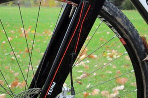 The 3T Luteus Team is an outstanding option for riders seeking a high-end carbon 'cross fork for use with disc brakes