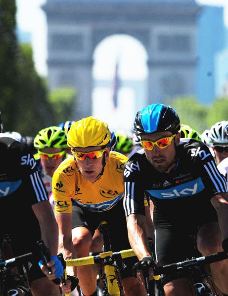 The 2013 Tour de France will finish with a stage from Versailles to Paris/Champs-Elysées