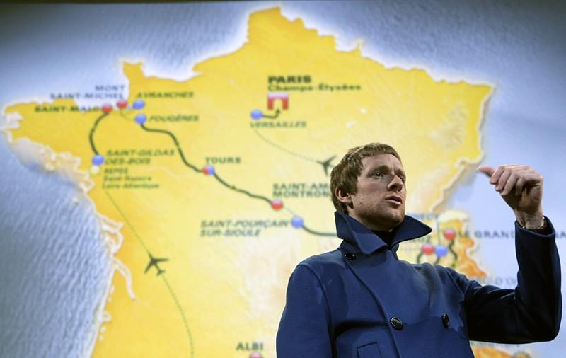 Bradley Wiggins, the 2012 Tour de France winner