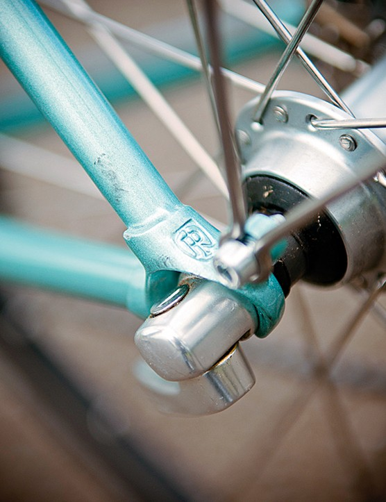 Ritchey dropouts include mudguard eyelets but no rack holders