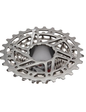 Plenty of holes for mud clearance on the new X-Glide (XG) 1090 Cyclocross Cassette