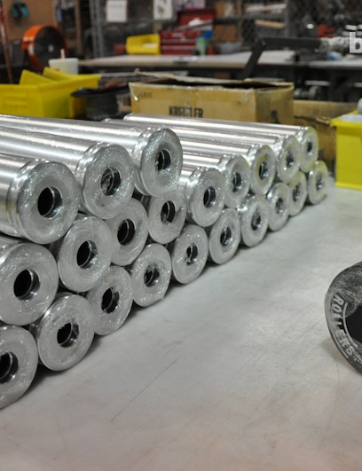Kreitler rollers are made in the MRP facility