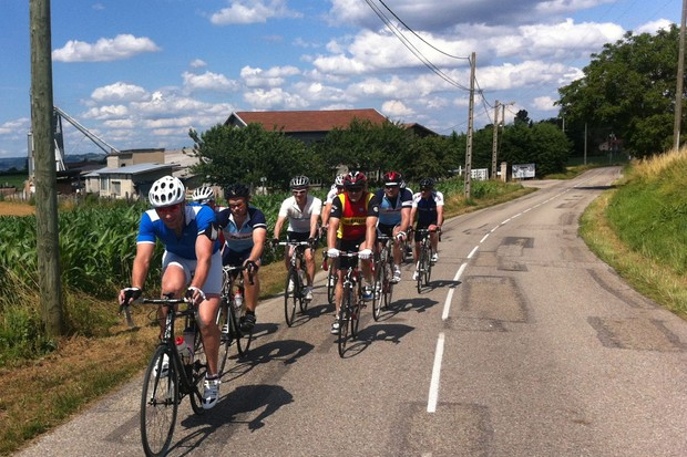 The Tour de Force is based on camaraderie rather than competition