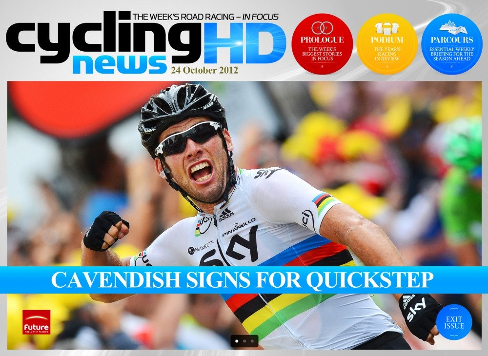 Cav's move to Omega Pharma-QuickStep is the hot news from the pro cycling world