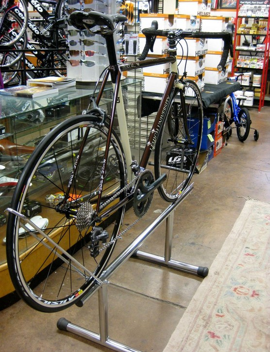 Rich Adams co-owns the local bike shop, Around Town Bicycles